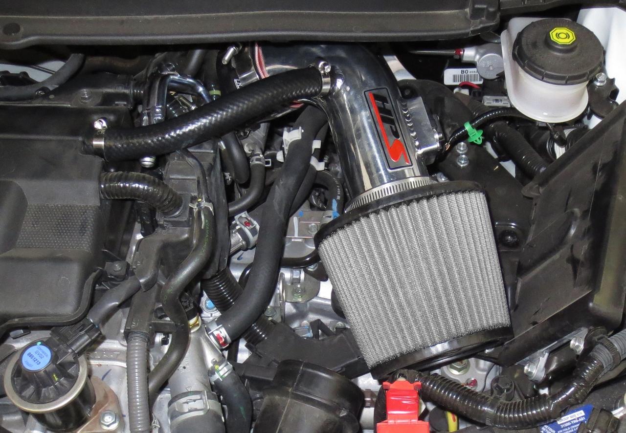 HPS 27-527WB Black Short Ram Air Intake Kit Non-CARB Compliant
