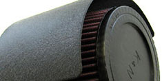 HPS Air Intake Feature Air Filter Heat Shield Reduce Heat Soak