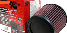 HPS Air Intake Feature K&N High Flow Performance Air Filter